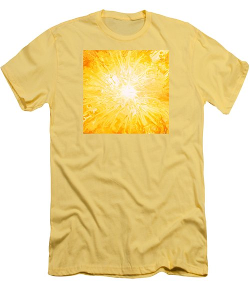 Here Comes The Sun Men's T-Shirt (Slim Fit) by Kume Bryant