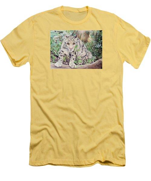 Hidden In Plain Sight - Clouded Leopard Men's T-Shirt (Athletic Fit)