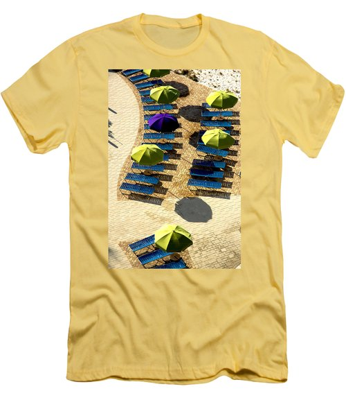 Men's T-Shirt (Slim Fit) featuring the photograph Holiday by Kathy Bassett