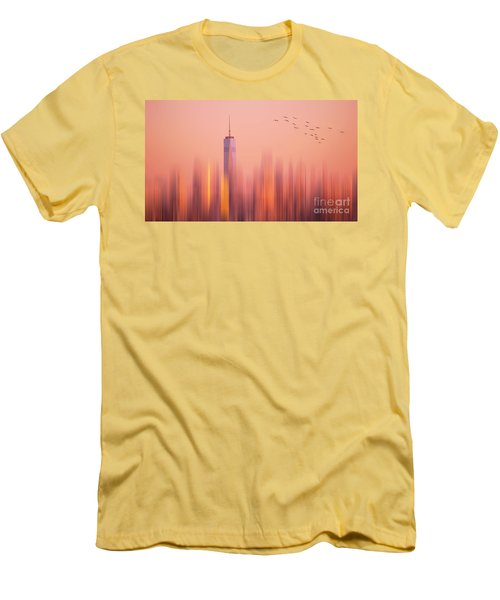 Men's T-Shirt (Slim Fit) featuring the photograph Towards Freedom by Rima Biswas