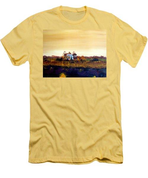 Homestead Men's T-Shirt (Slim Fit) by William Renzulli