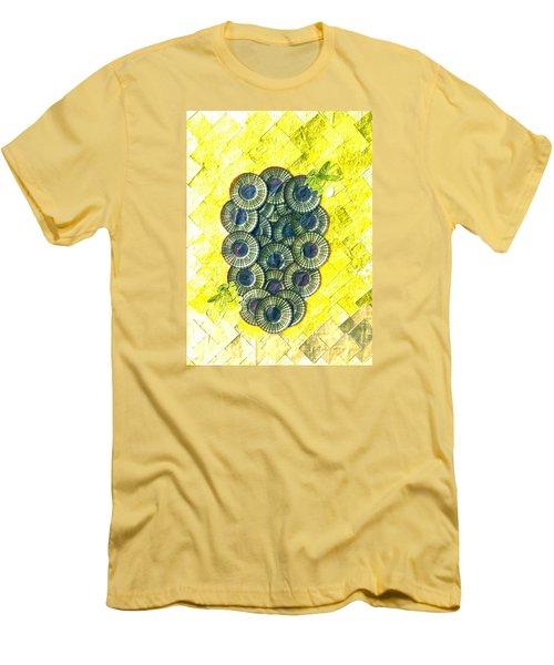 Men's T-Shirt (Slim Fit) featuring the digital art Honeybee 1 by Lorna Maza
