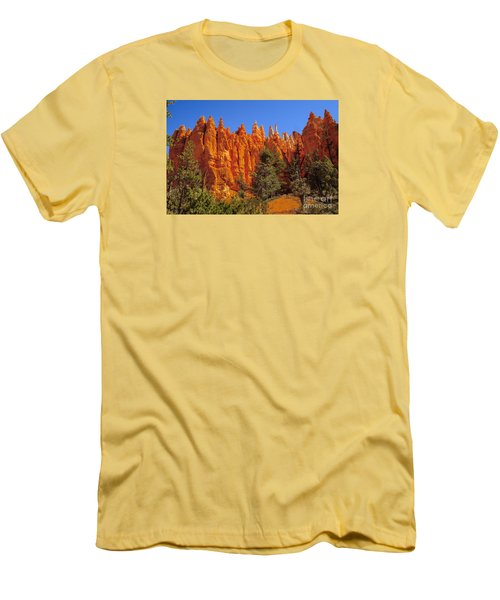 Hoodoos Along The Trail Men's T-Shirt (Athletic Fit)