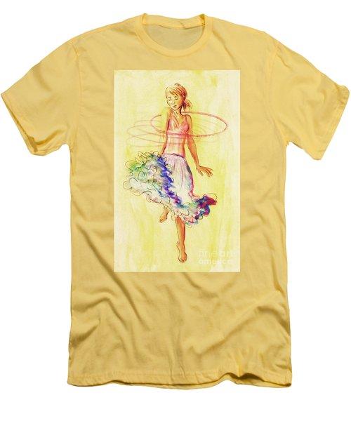 Hoop Dance Men's T-Shirt (Athletic Fit)