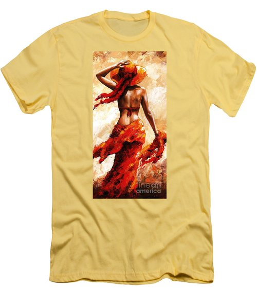 Hot Breeze #02 Men's T-Shirt (Slim Fit) by Emerico Imre Toth