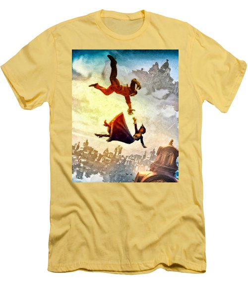 If You Fall Men's T-Shirt (Athletic Fit)