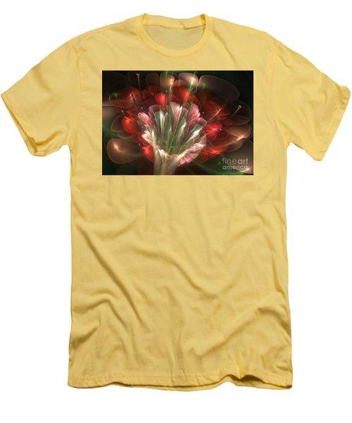 Men's T-Shirt (Slim Fit) featuring the digital art In Bloom by Svetlana Nikolova