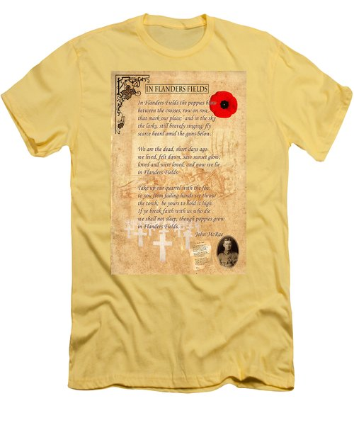 In Flanders Fields Men's T-Shirt (Athletic Fit)