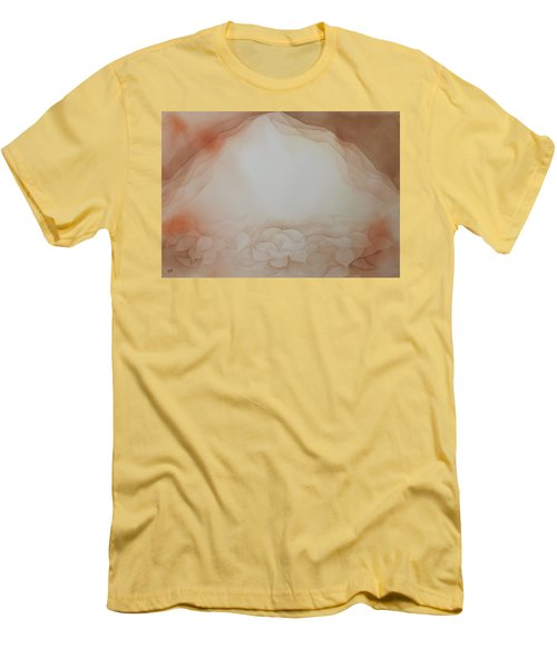 Men's T-Shirt (Slim Fit) featuring the painting In The Beginning by Richard Faulkner