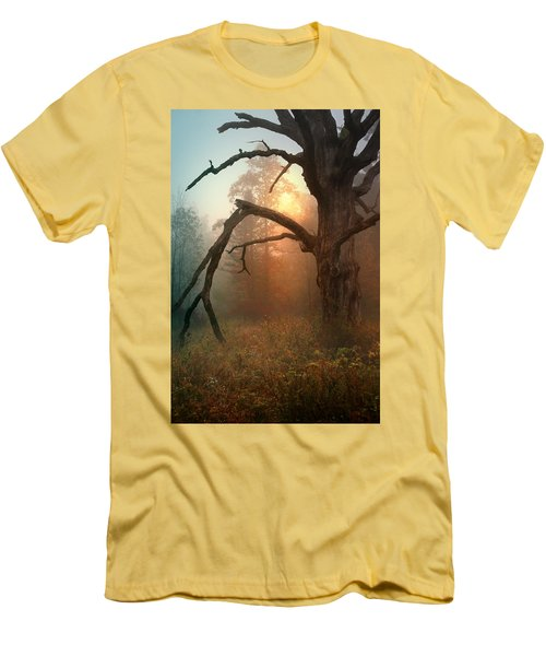 In The Stillness Men's T-Shirt (Slim Fit) by Rob Blair