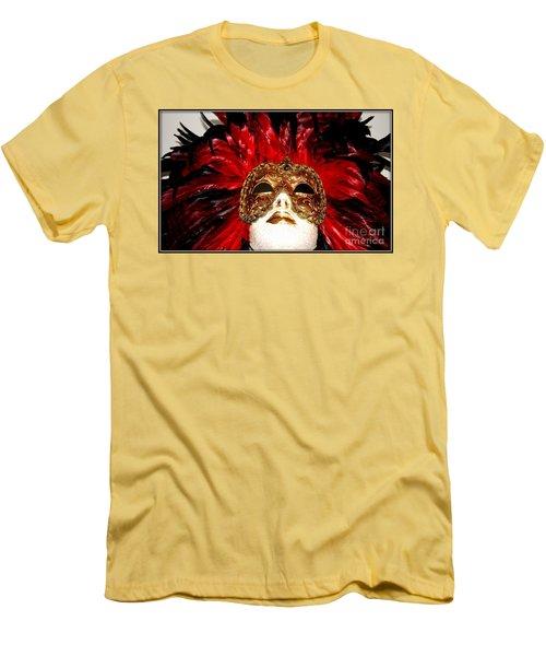Incognito.. Men's T-Shirt (Slim Fit) by Jolanta Anna Karolska