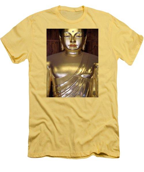 Jogyesa Buddha Men's T-Shirt (Athletic Fit)