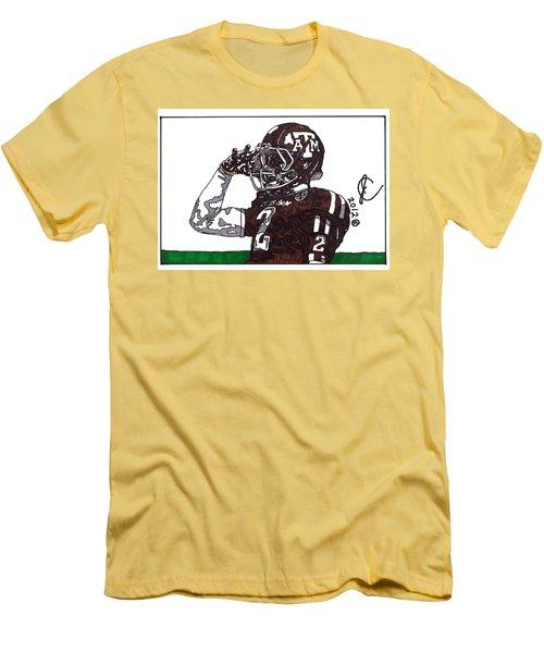 Johnny Manziel The Salute Men's T-Shirt (Athletic Fit)