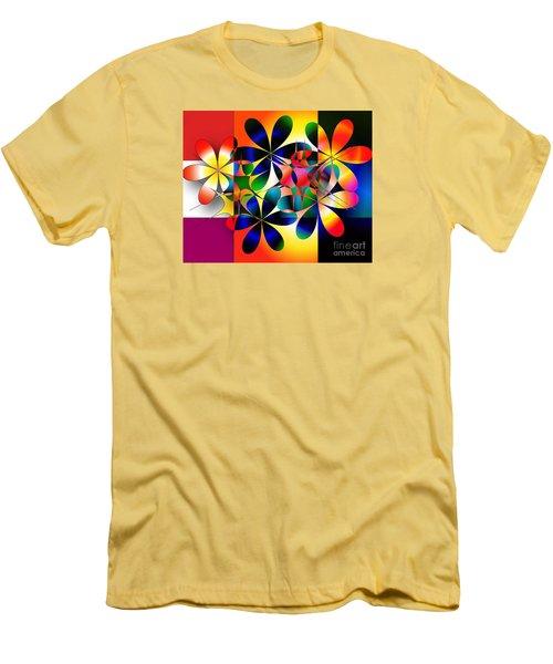 Men's T-Shirt (Slim Fit) featuring the digital art Just A Note by Iris Gelbart