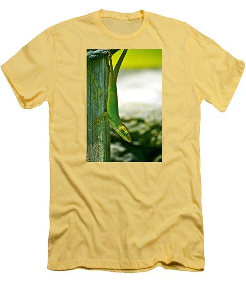 Just Hanging... Men's T-Shirt (Slim Fit) by Lehua Pekelo-Stearns