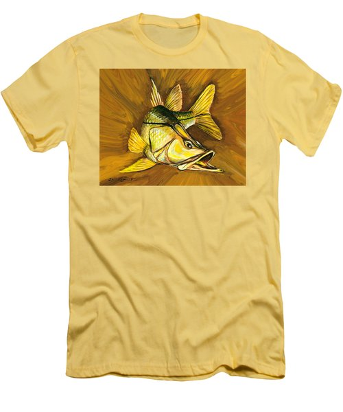 Kelly B's Snook Men's T-Shirt (Slim Fit) by Steve Ozment