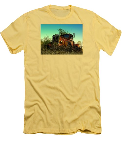Kenworth 3 Men's T-Shirt (Slim Fit) by Salman Ravish