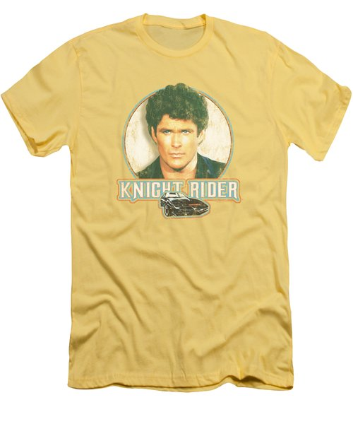 Knight Rider - Vintage Men's T-Shirt (Athletic Fit)
