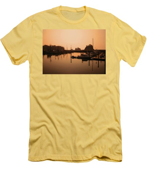 La Push In The Afternoon Men's T-Shirt (Slim Fit) by Kym Backland