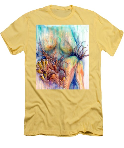 Lady In The Reef Men's T-Shirt (Athletic Fit)