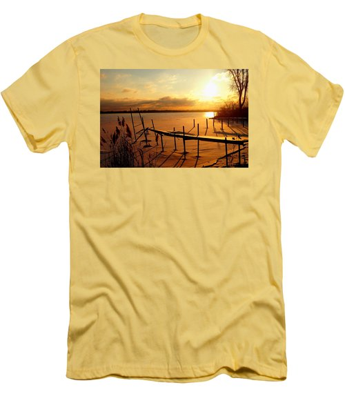 Last Winter ? Men's T-Shirt (Slim Fit) by Daniel Thompson