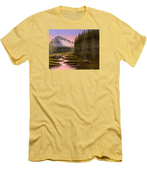 Late In The Day Men's T-Shirt (Slim Fit) by Jack Malloch