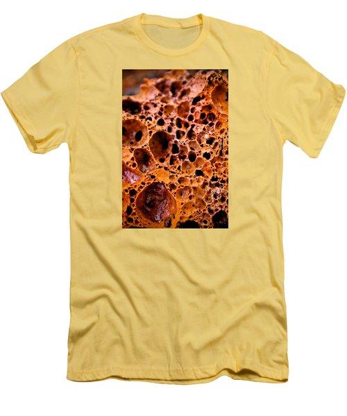 Men's T-Shirt (Slim Fit) featuring the photograph Lava Rock by Joel Loftus