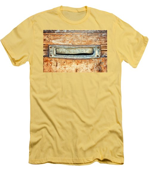 Lettere Letters Men's T-Shirt (Slim Fit) by Silvia Ganora