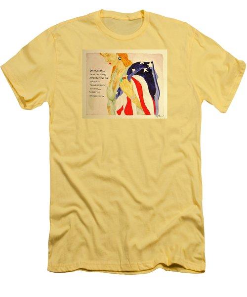 The Divorce Of Liberty Men's T-Shirt (Slim Fit)