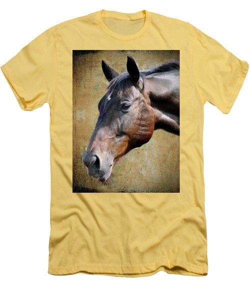Lil Word Men's T-Shirt (Slim Fit) by Savannah Gibbs