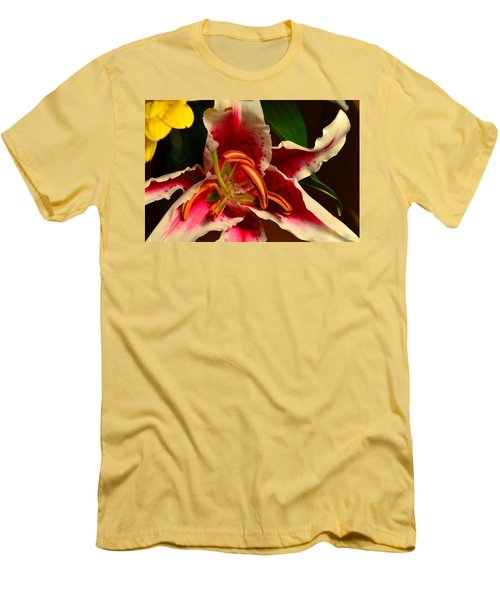 Lily Rose Flower 2 Men's T-Shirt (Athletic Fit)