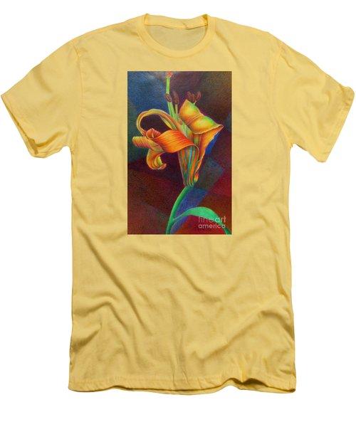 Lily's Rainbow Men's T-Shirt (Slim Fit)