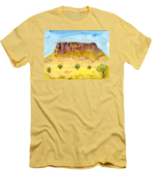 Little Table Mountain Men's T-Shirt (Athletic Fit)