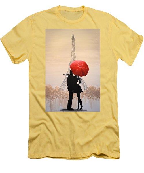 Love In Paris Men's T-Shirt (Athletic Fit)