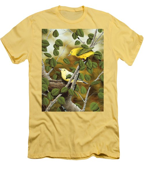 Love Nest Men's T-Shirt (Slim Fit)