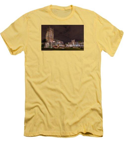 Loyola University New Orleans Men's T-Shirt (Slim Fit) by Tim Stanley