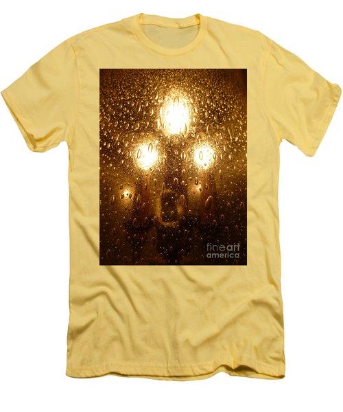 Macro Lights Men's T-Shirt (Slim Fit) by Joseph Baril