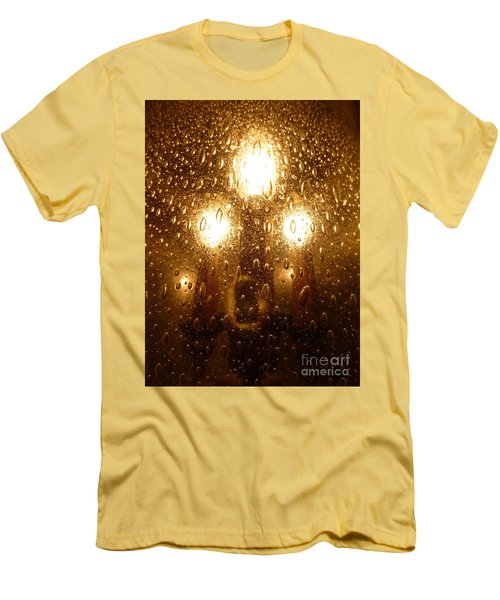 Macro Lights Men's T-Shirt (Athletic Fit)