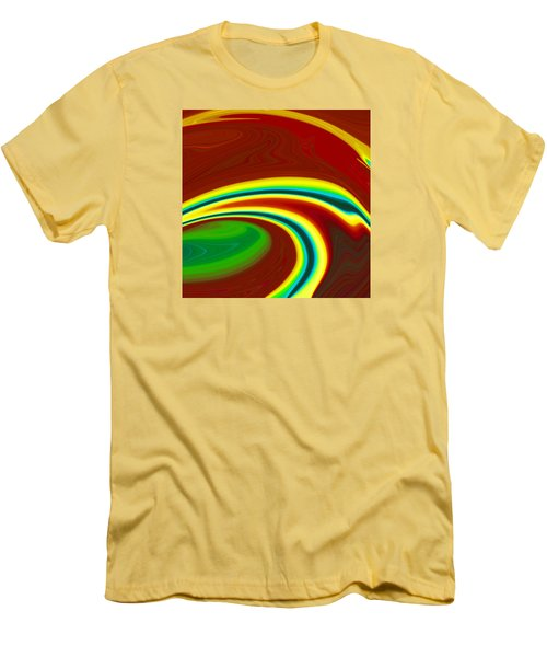 Magma  C2014 Men's T-Shirt (Slim Fit) by Paul Ashby