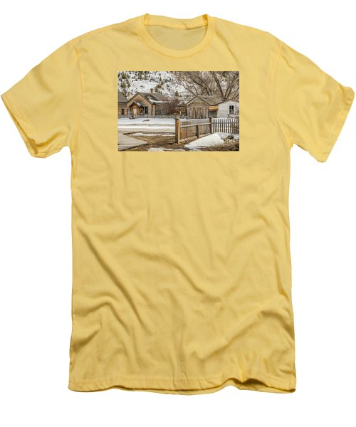 Men's T-Shirt (Athletic Fit) featuring the photograph Main Street by Sue Smith