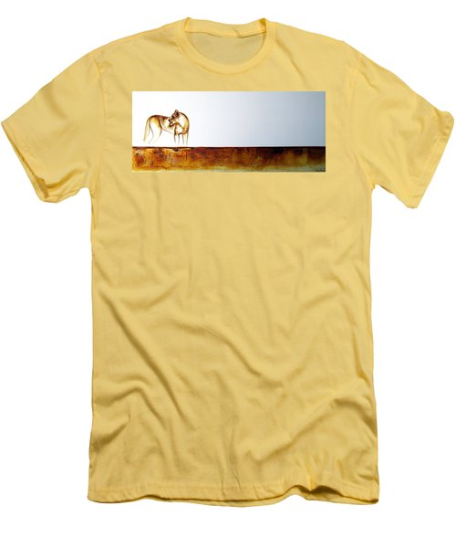 Lioness - Original Artwork Men's T-Shirt (Athletic Fit)