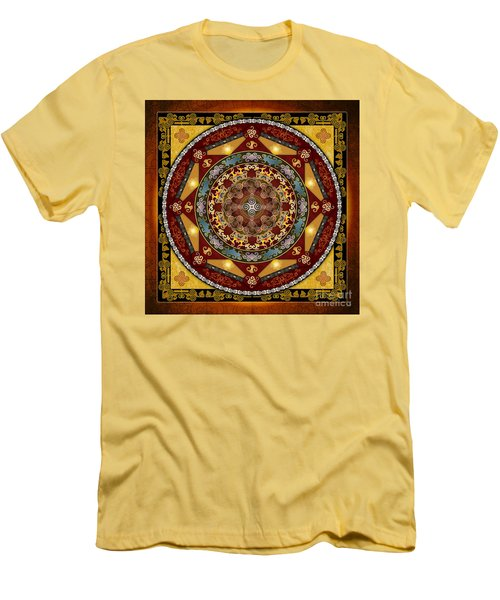 Mandala Oriental Bliss Men's T-Shirt (Athletic Fit)
