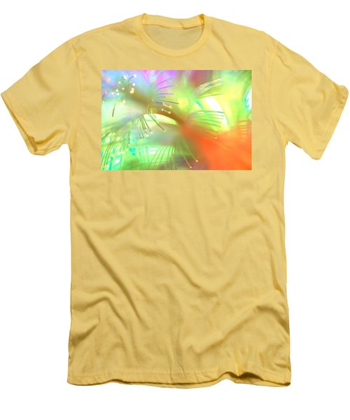 Men's T-Shirt (Slim Fit) featuring the photograph Maybe Im Amazed by Dazzle Zazz