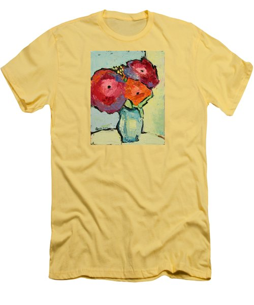 Melody Of Love Men's T-Shirt (Slim Fit) by Becky Kim