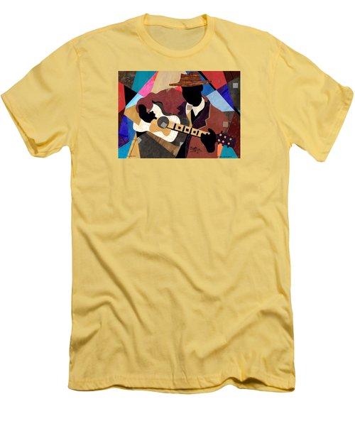 Memphis Blues Men's T-Shirt (Slim Fit)