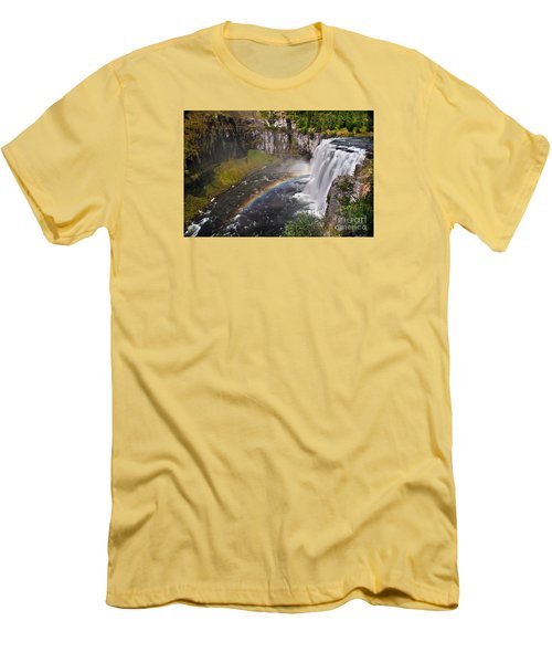 Mesa Falls Men's T-Shirt (Slim Fit) by Robert Bales