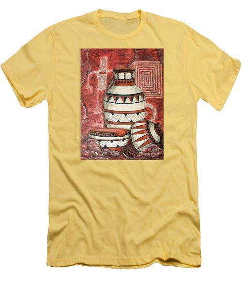 Messages Men's T-Shirt (Slim Fit) by Kim Jones