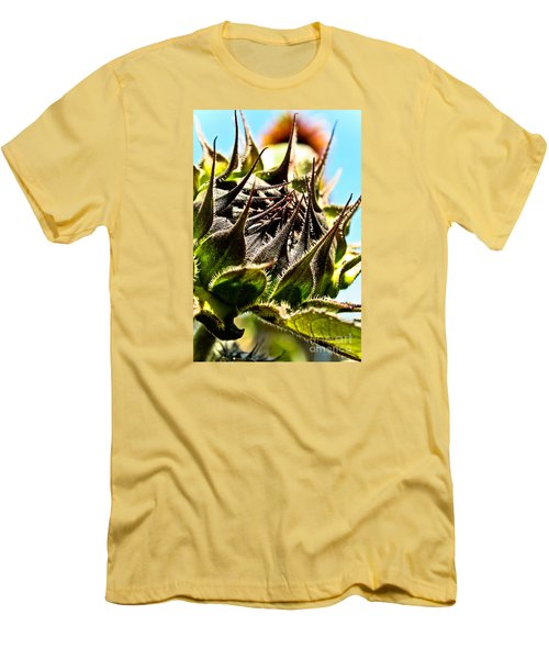 Men's T-Shirt (Slim Fit) featuring the photograph Mexican Sunflower by Joel Loftus