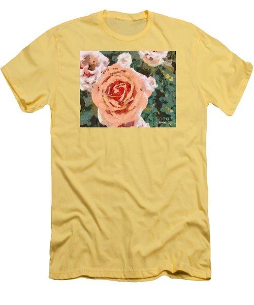 Alameda Meyers House Garden Klimt Rose Men's T-Shirt (Athletic Fit)