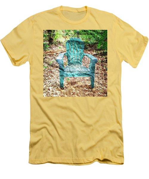 Mi Silla De Papel  Men's T-Shirt (Slim Fit) by Carlos Avila